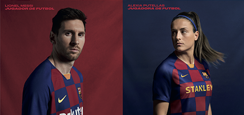BARCELONA HOME TEAM KIT